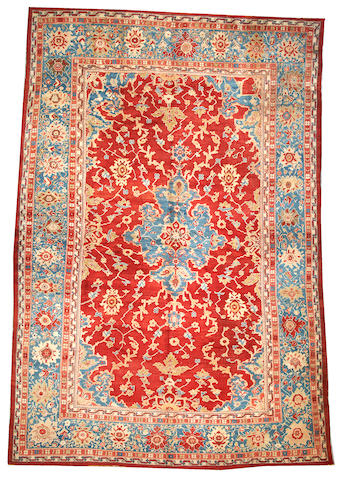 A Sultanabad carpet  Central Persia size approximately 11ft. 5in. x 17ft.