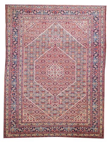 A Tabriz carpet  Northwest Persia size approximately 8ft. 6in. x 11ft. 2in.