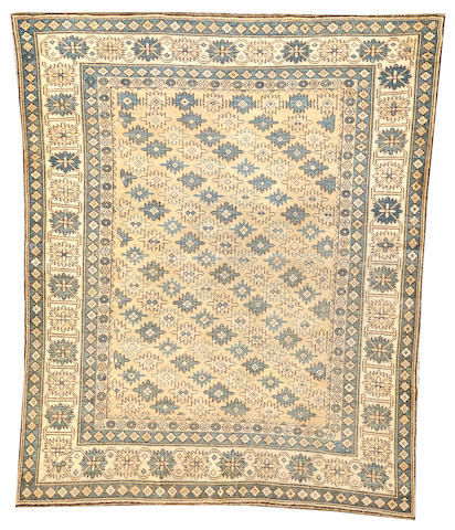 A Shirvan rug  Caucasus size approximately 3ft. 7in. x 4ft. 5in.