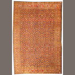 A Ziegler Mahal carpet  Central Persia size approximately 8ft. 11in. x 13ft. 5in.