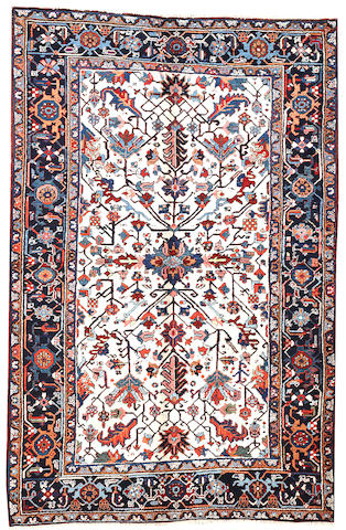 A Heriz rug Northwest Persia size approximately 5ft. x 7ft. 8in.