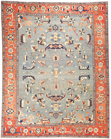 A Serapi carpet  Northwest Persia size approximately 10ft. 4in. x 13ft.