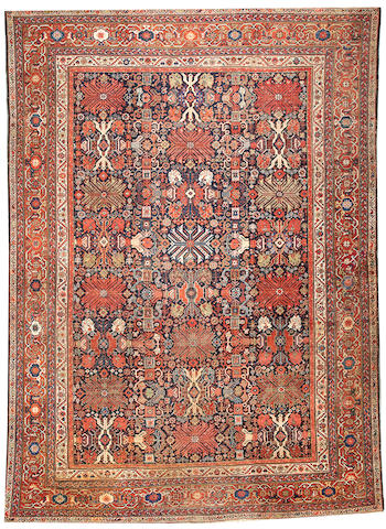 A Fereghan carpet Central Persia size approximately 10ft. x 12ft. 7in.
