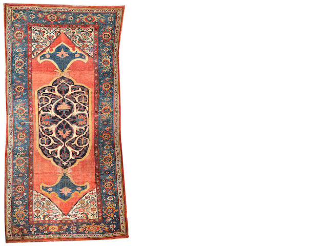 A Bidjar carpet  Northeast Persia size approximately 4ft. 6in. x 9ft. 2in.
