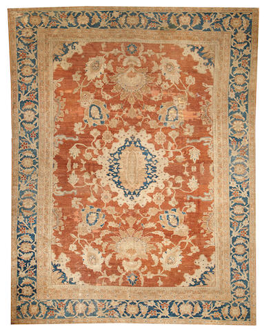 A Sultanabad carpet  Central Persia size approximately 9ft. 5in. x 12ft. 1in.