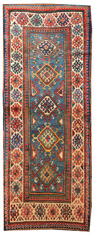 A Kazak rug Caucasus size approximately 3ft. 6in. x 8ft. 10in.