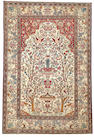 An Isphahan rug  South Central Persia size approximately 4ft. 6in. x 6ft. 8in.