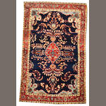 A Fereghan Sarouk rug  Central Persia size approximately 4ft. 1in. x 6ft. 5in.