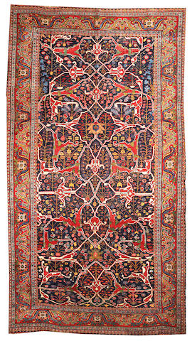 A Bidjar carpet Northwest Persia size approximately 7ft. 6in. x 13ft. 8in.