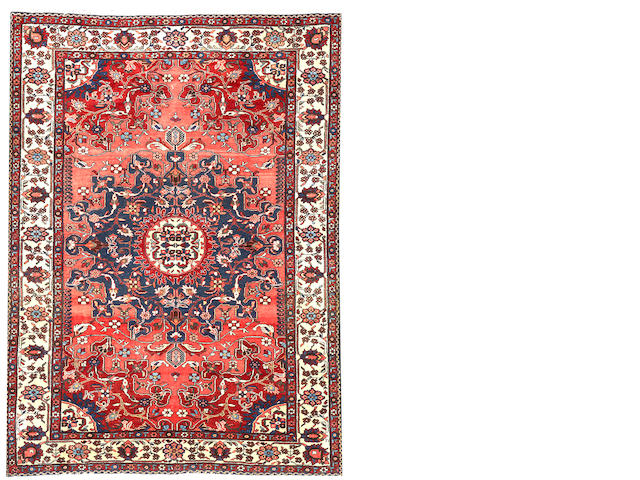 A Malayer rug Central Persia size approximately 5ft. x 6ft.