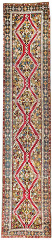 A Karabagh runner  Caucasus size approximately 3ft. 4in. x 16ft.