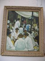 Unidentified artist (Korea, 20th century) Gathering at a restaurant