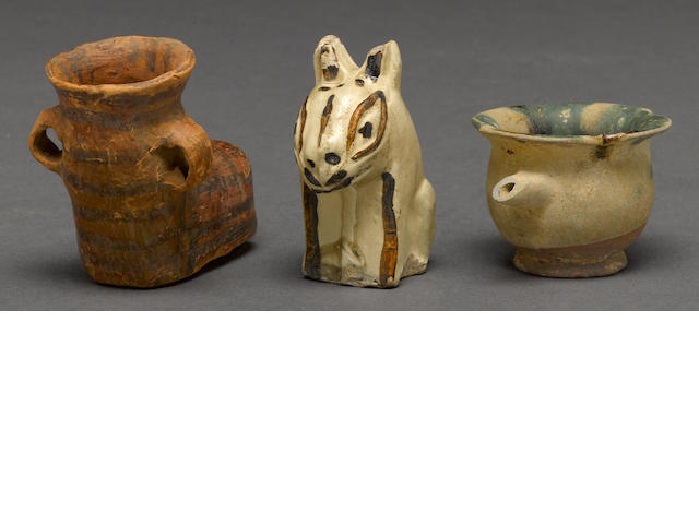 Three early Chinese ceramics