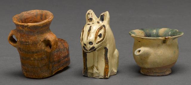 Three early Chinese ceramics