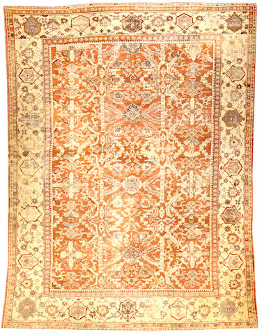 A Sultanabad carpet Central Persia size approximately 10ft. 11in. x 14ft. 8in.