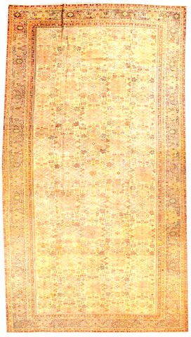 A Sultanabad carpet  Central Persia size approximately 11ft. 6in. x 19ft. 6in.