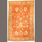 An Oushak carpet West Anatolia size approximately 10ft. x 16ft.
