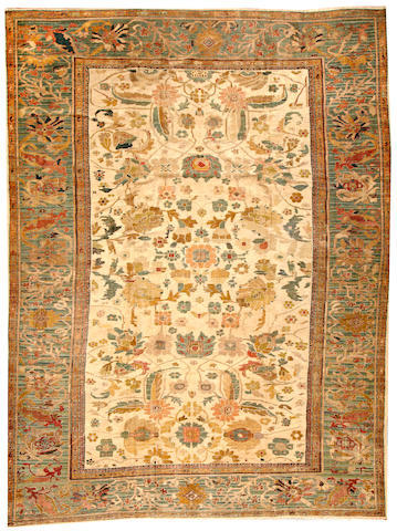 A Sultanabad carpet Central Persia size approximately 10ft. 4in. x 13ft. 6in.