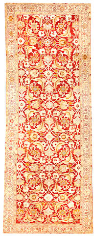 A Sultanabad long carpet  Central Persia size approximately 6ft. x 16ft.