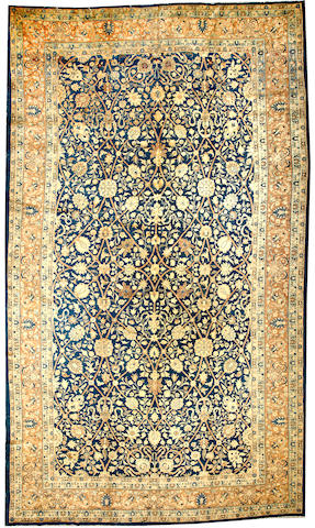 A Tabriz carpet  Northwest Persia size approximately 11ft. 3in. x 17ft. 7in.