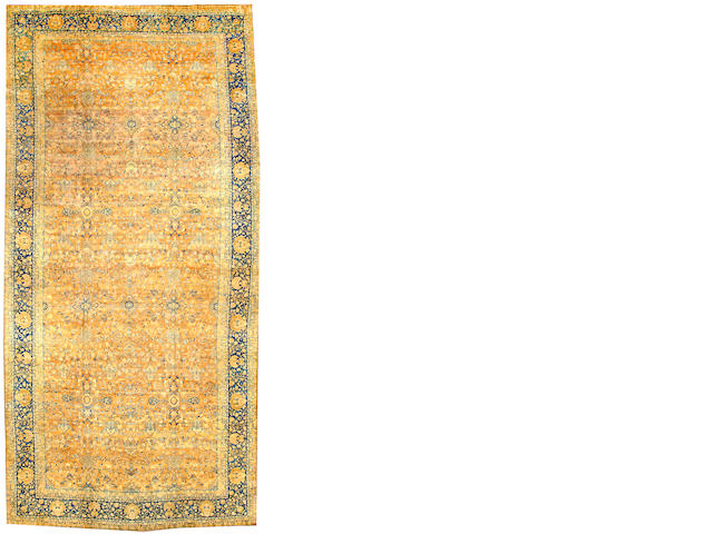 A Kerman carpet  South Central Persia size approximately 10ft. x 21ft.