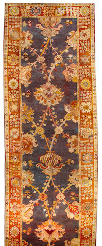A Donegal long carpet Ireland size approximately 6ft. x 22ft.