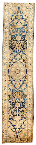 A Bidjar runner  Northwest Persia size approximately 3ft. x 13ft. 7in.