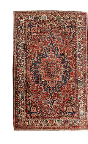 A Bakhtiari carpet  Northwest Persia size approximately 10ft. x 12ft.