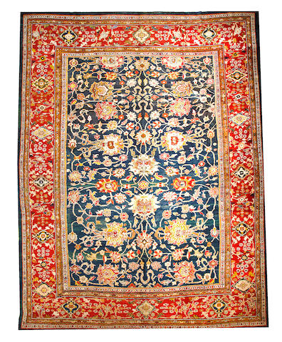 A Sultanabad carpet  Central Persia size approximately 13ft. 5in. x 18ft.