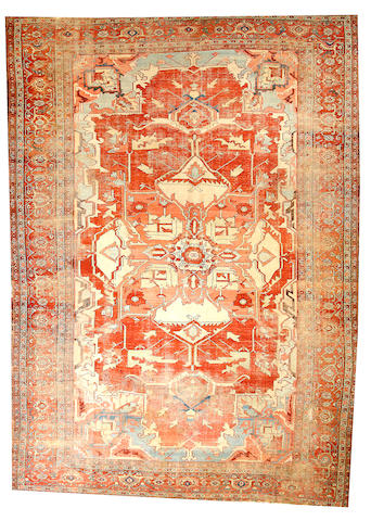 A Serapi carpet  Northwest Persia size approximately 10ft. x 14ft. 5in.