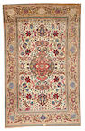 An Isphahan rug  South Central Persia size approximately 4ft. 7in. x 7ft. 3in.