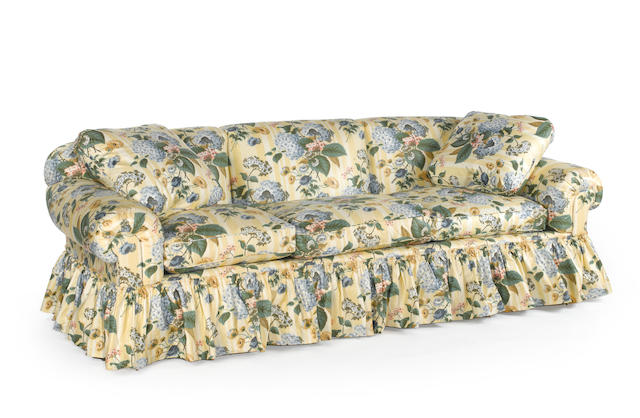 A Sister Parish upholstered sofa