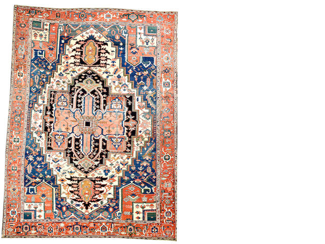 A Serapi carpet  Northwest Persia size approximately 9ft. 9in. x 13ft. 3in.