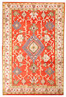An Oushak carpet  West Anatolia size approximately 6ft. x 8ft. 10in.