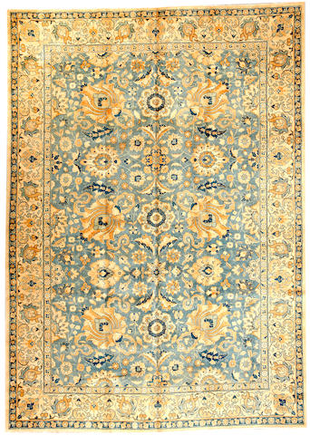 A Tabriz carpet Northwest Persia size approximately 7ft. 9in. x 10ft. 11in.
