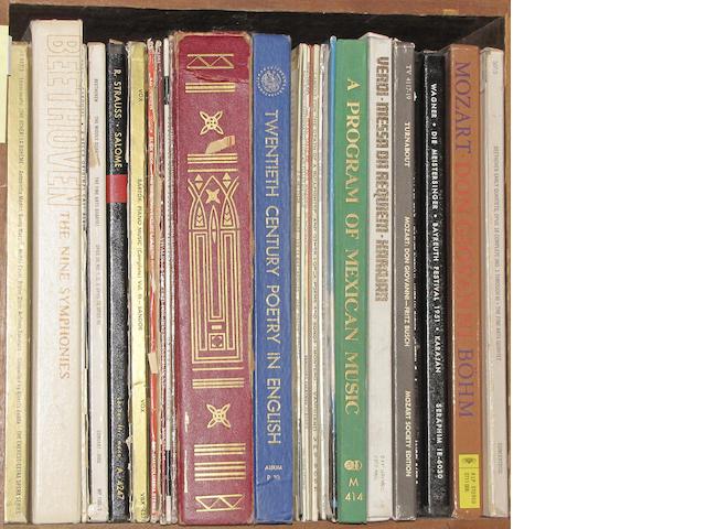 [RECORD ALBUMS - CLASSICAL, ETC.]