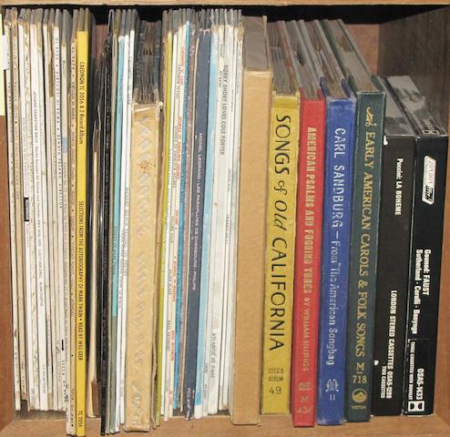 [RECORD ALBUMS - VARIOUS.]