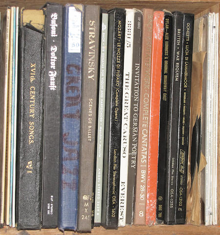 [RECORD ALBUMS - VARIOUS.]