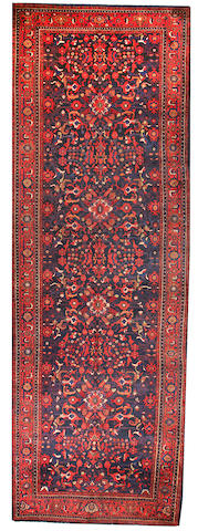 A Bidjar long carpet  Northwest Persia size approximately 6ft. 9in. x 19ft. 8in.