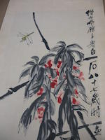 Qi Baishi (1863-1957) Dragonfly and Plant