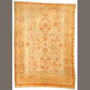 An Oushak rug  West Anatolia size approximately 6ft. 6in. x 9ft.