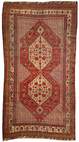 A Qashq'ai long carpet Southwest Persia size approximately 5ft. 6in. x 10ft. 6in.