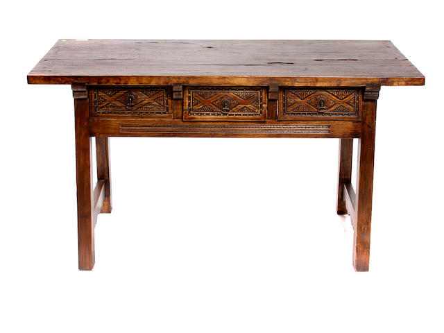 A Renaissance style library table