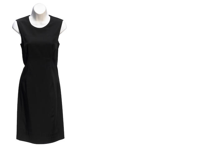 A Prada black sleeveless dress