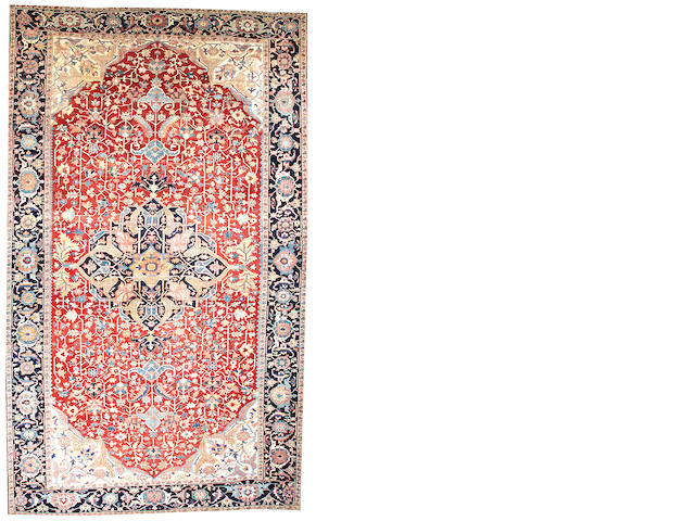 A Serapi carpet  Northwest Persia size approximately 11ft. 4in. x 19ft. 4in