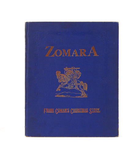 COWAN, FRANK. Zomara: A Romance of Spain. Pittsburgh, PA: [the author], 1873.