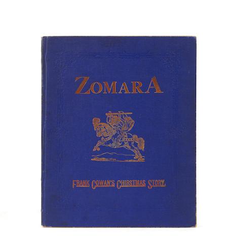 COWAN, FRANK. Zomara: A Romance of Spain. Pittsburgh, PA: [the author], 1873.