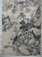 Various Artists (19th century) Two Ink landscapes