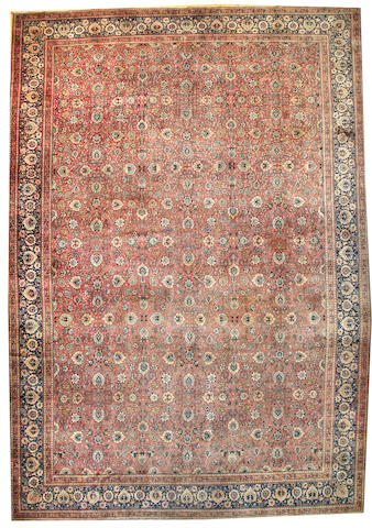 A Hadji Jalili Tabriz carpet Northwest Persia size approximately 14ft. 10in. x 21ft. 3in.