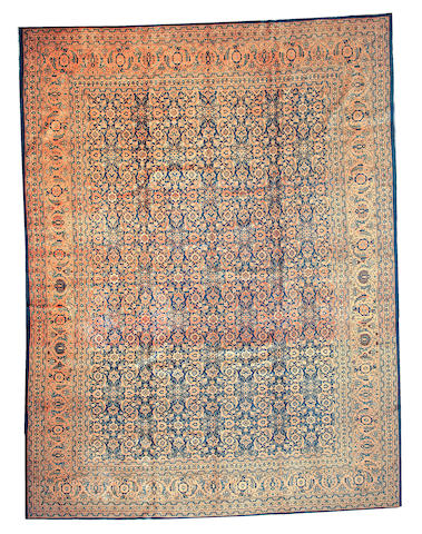 A Tabriz carpet Northwest Persia size approximately 10ft. 9in. x 14ft. 4in.